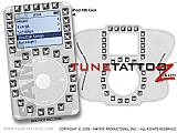 Studs On Leather White iPod Tune Tattoo Kit (fits 4th Gen iPods)
