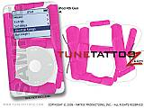 Bandages Pink iPod Tune Tattoo Kit (fits 4th Gen iPods)