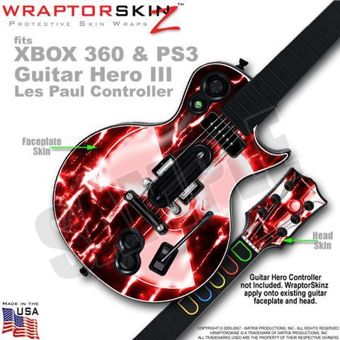 Guitar Hero III Les Paul Guitars XBOX 360 PS3 Skins ...