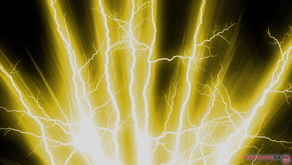 yellow electricity background - photo #25