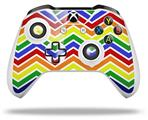 Zig Zag Rainbow - Decal Style Skin fits Microsoft XBOX One S and One X Wireless Controller