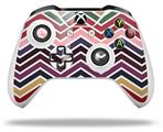 Zig Zag Colors 02 - Decal Style Skin fits Microsoft XBOX One S and One X Wireless Controller