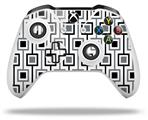Squares In Squares - Decal Style Skin fits Microsoft XBOX One S and One X Wireless Controller