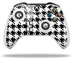 Houndstooth Black and White - Decal Style Skin fits Microsoft XBOX One S and One X Wireless Controller