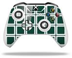 Skin Wrap for Microsoft XBOX One S / X Controller Squared Hunter Green