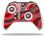 Skin Wrap for Microsoft XBOX One S / X Controller Camouflage Red