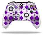 Skin Wrap for Microsoft XBOX One S / X Controller Boxed Purple