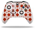 Skin Wrap for Microsoft XBOX One S / X Controller Boxed Red Dark