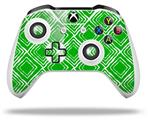 Skin Wrap for Microsoft XBOX One S / X Controller Wavey Green