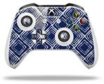 Skin Wrap for Microsoft XBOX One S / X Controller Wavey Navy Blue