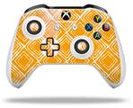Skin Wrap for Microsoft XBOX One S / X Controller Wavey Orange