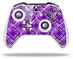 Wavey Purple - Decal Style Skin fits Microsoft XBOX One S and One X Wireless Controller