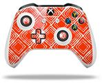 Wavey Red - Decal Style Skin fits Microsoft XBOX One S and One X Wireless Controller