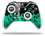HEX Seafoan Green - Decal Style Skin fits Microsoft XBOX One S and One X Wireless Controller