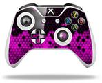 HEX Hot Pink - Decal Style Skin fits Microsoft XBOX One S and One X Wireless Controller