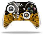 HEX Yellow - Decal Style Skin fits Microsoft XBOX One S and One X Wireless Controller