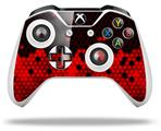 HEX Red - Decal Style Skin fits Microsoft XBOX One S and One X Wireless Controller