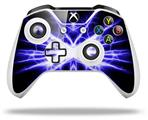 Skin Wrap for Microsoft XBOX One S / X Controller Lightning Blue