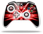 Skin Wrap for Microsoft XBOX One S / X Controller Lightning Red