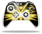 Lightning Yellow - Decal Style Skin fits Microsoft XBOX One S and One X Wireless Controller