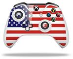 USA American Flag 01 - Decal Style Skin fits Microsoft XBOX One S and One X Wireless Controller