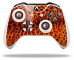 Skin Wrap for Microsoft XBOX One S / X Controller Fractal Fur Cheetah