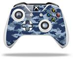 Skin Wrap for Microsoft XBOX One S / X Controller WraptorCamo Digital Camo Navy