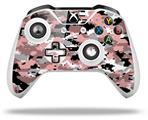 WraptorCamo Digital Camo Pink - Decal Style Skin fits Microsoft XBOX One S and One X Wireless Controller