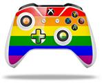 Rainbow Stripes - Decal Style Skin fits Microsoft XBOX One S and One X Wireless Controller