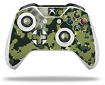 WraptorCamo Old School Camouflage Camo Army - Decal Style Skin fits Microsoft XBOX One S and One X Wireless Controller