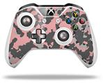 Skin Wrap for Microsoft XBOX One S / X Controller WraptorCamo Old School Camouflage Camo Pink