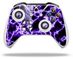 Electrify Purple - Decal Style Skin fits Microsoft XBOX One S and One X Wireless Controller