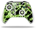 Electrify Green - Decal Style Skin fits Microsoft XBOX One S and One X Wireless Controller