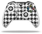 Skin Wrap for Microsoft XBOX One S / X Controller Houndstooth Dark Gray
