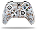 Skin Wrap for Microsoft XBOX One S / X Controller Rusted Metal