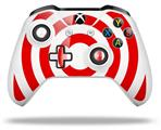 Bullseye Red and White - Decal Style Skin fits Microsoft XBOX One S and One X Wireless Controller