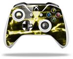 Skin Wrap for Microsoft XBOX One S / X Controller Radioactive Yellow