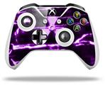 Skin Wrap for Microsoft XBOX One S / X Controller Radioactive Purple
