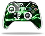 Skin Wrap for Microsoft XBOX One S / X Controller Radioactive Green