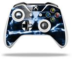 Skin Wrap for Microsoft XBOX One S / X Controller Radioactive Blue