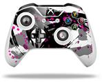 Abstract 02 Pink - Decal Style Skin fits Microsoft XBOX One S and One X Wireless Controller