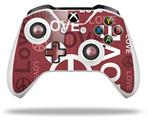 Skin Wrap for Microsoft XBOX One S / X Controller Love and Peace Pink
