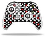 XO Hearts - Decal Style Skin fits Microsoft XBOX One S and One X Wireless Controller