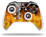 Skin Wrap for Microsoft XBOX One S / X Controller Open Fire