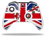 Union Jack 02 - Decal Style Skin fits Microsoft XBOX One S and One X Wireless Controller