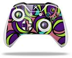 Skin Wrap for Microsoft XBOX One S / X Controller Crazy Dots 01