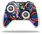 Skin Wrap for Microsoft XBOX One S / X Controller Crazy Dots 02