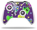 Skin Wrap for Microsoft XBOX One S / X Controller Crazy Hearts