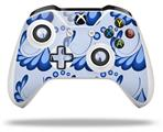 Petals Blue - Decal Style Skin fits Microsoft XBOX One S and One X Wireless Controller
