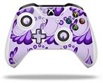 Skin Wrap for Microsoft XBOX One S / X Controller Petals Purple